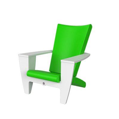 Chaise Extrieur Finition Vert Pomme Et Blanc